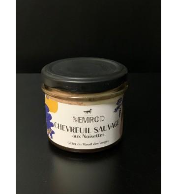 Terrine de Chevreuil aux Noisettes - NEMROD