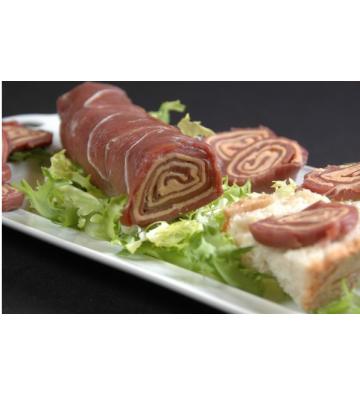 Roulé de Magret au Foie gras  - Ferme du Luguen