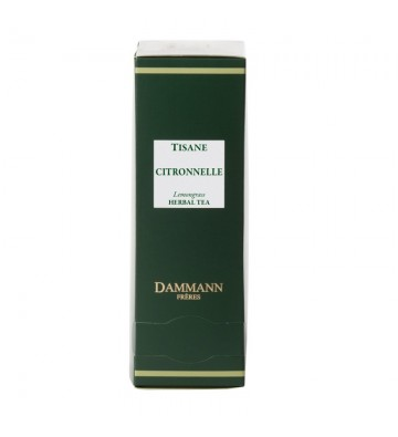 Tisane Citronnelle SS - Dammann Frères