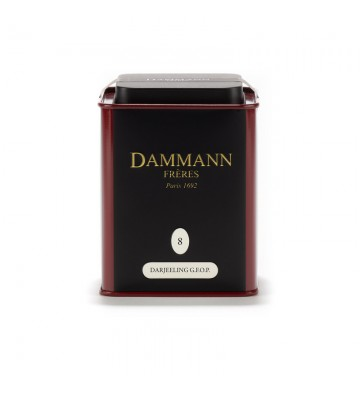 Darjeeling Thé Noir, Vrac  - Dammann Frères
