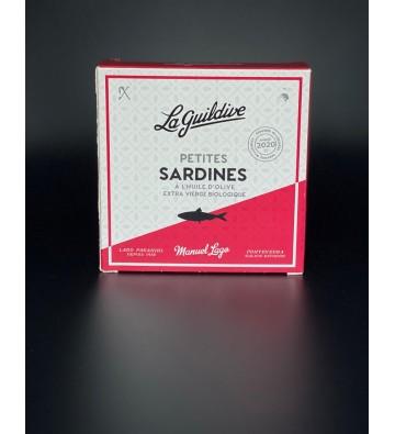 Petites Sardines à L'Huile d'Olive Extra Vierge - La Guildive