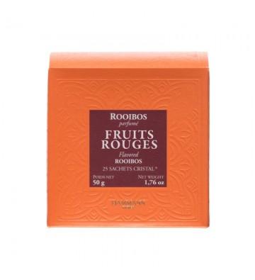 Rooibos Fruits Rouges, en sachet - Dammann Frères