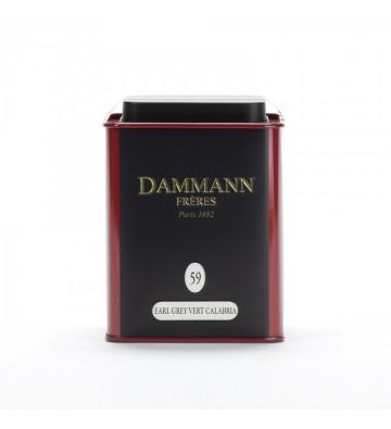 Thé Earl Grey Vert Calabria - Dammann Frères