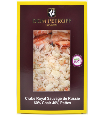 Crabe Royal Chair et Pattes - DOM PETROFF