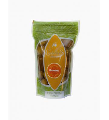 Olives Vertes Cassées - MOULIN CASTELAS